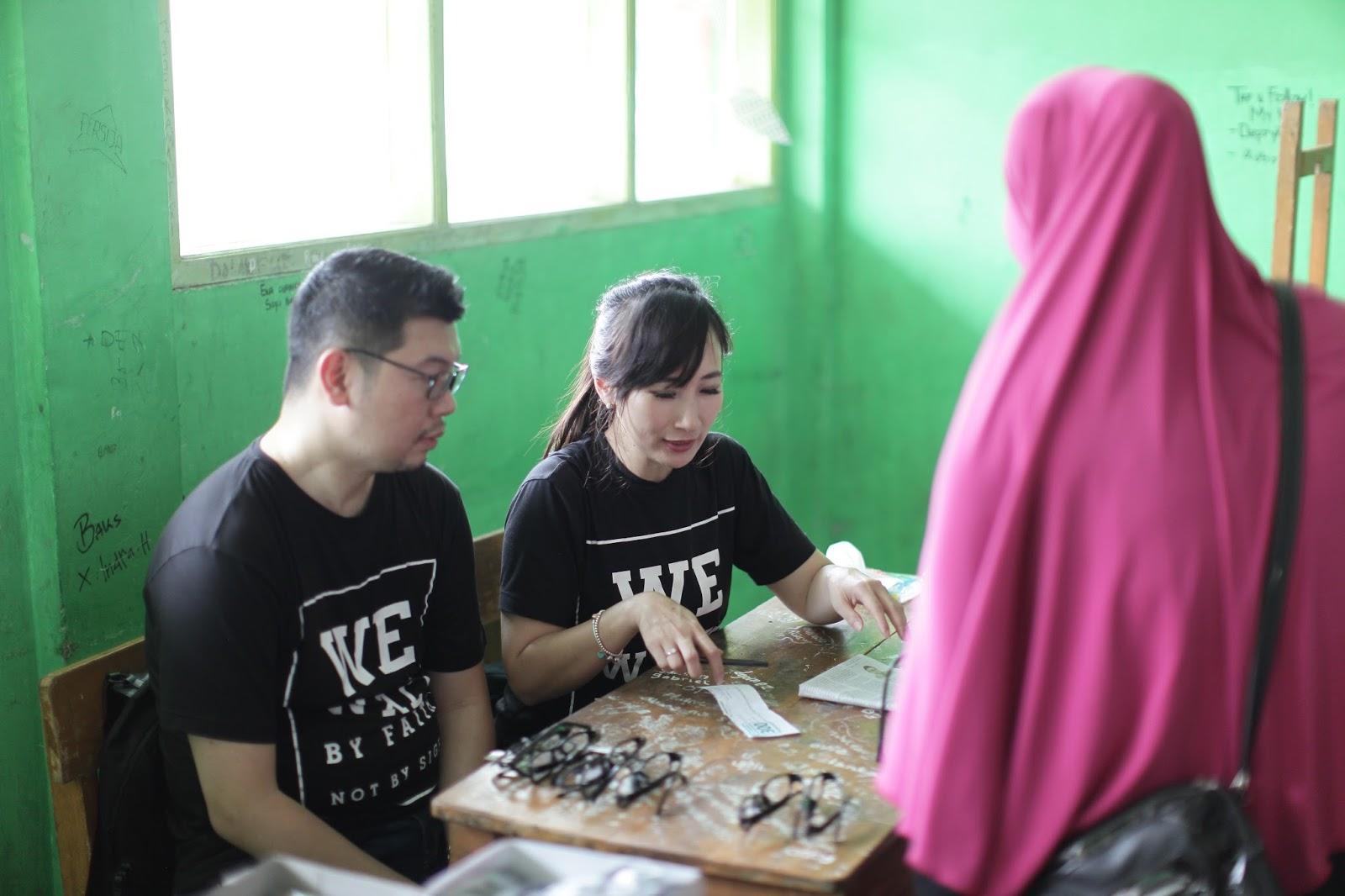 Bakti Sosial XII - Sejuta Kacamata untuk Indonesia  - Sukaraya, Bekasi image