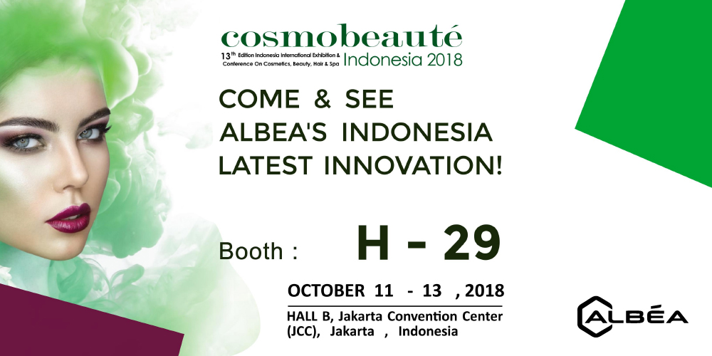 Kunjungi Kami di Booth #H-29 Cosmobeaute Indonesia 2018! 21 September 2018 image