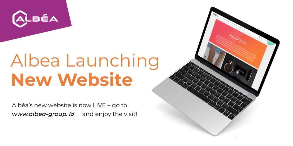 Video New Launch Website Albea Indonesia image