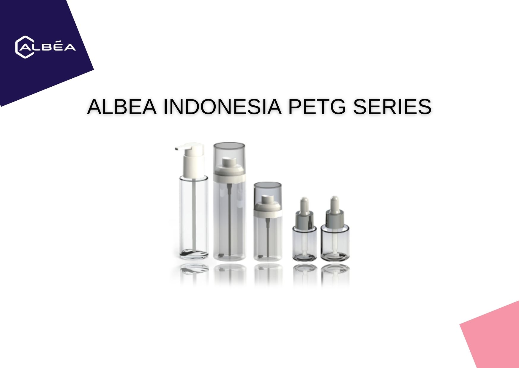 Albea Indonesia PETG Series image