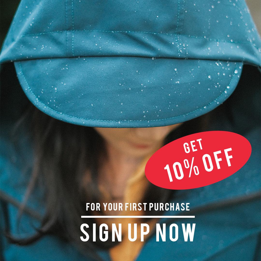 promo rain tokopedia shopee ame raincoat