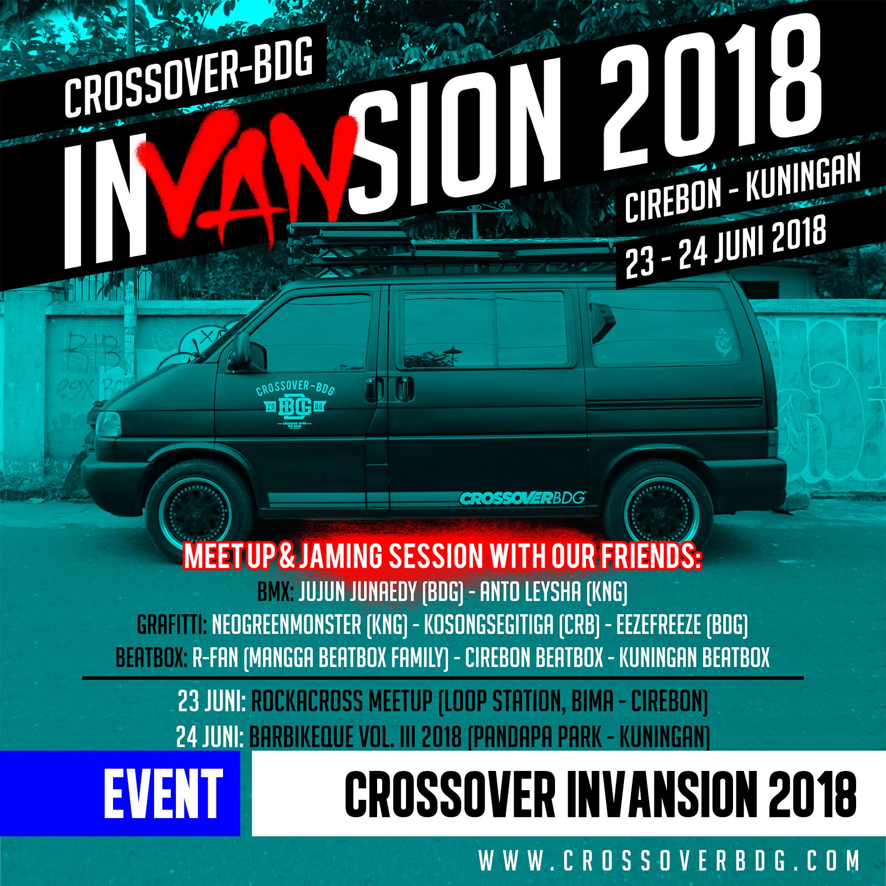 EVENT : Crossover InVANsion Tour 2018 Cirebon – Kuningan image