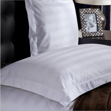 Extra 2 Pillow Cases Hotel White Line