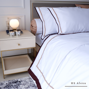 Extra 2 Pillow / Bolster Cases HS Alexa
