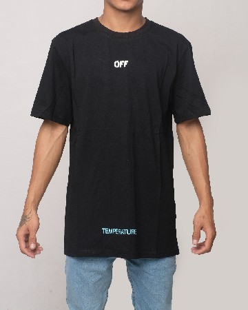 Off-White Temperature T-shirt - Black White - 61603