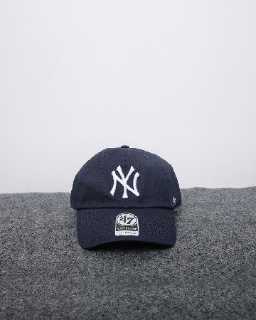 New Era New York Yankees 47 Clean Up - Navy Putih - 61567