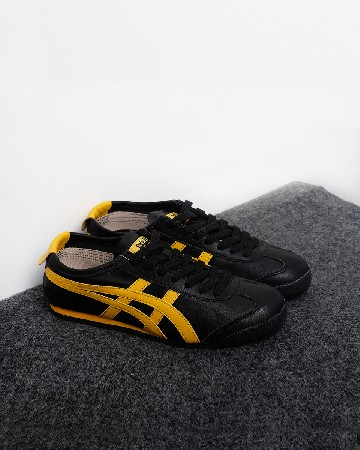 Onitsuka Tiger Mexico 66 Black - Gold Fusion - Black Yellow - 13342