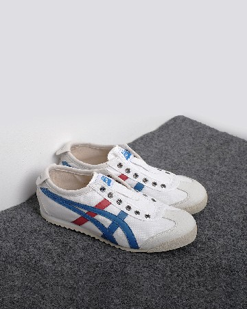 Onitsuka Tger 66 Slip On - White Red Blue - 13361