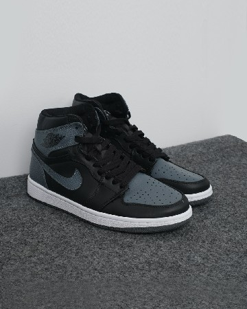 Nike Air Jordan 1 Retro Mid - Black Grey - 13113