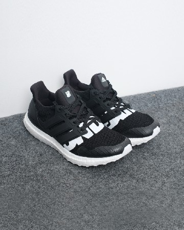 Adidas Ultra Boost X UNDEFEATED - Black White - 13111