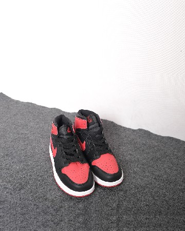 Nike Air Jordan 1 Retro MID TD ' GYM RED Kids - Gym - Red Black White - 13310