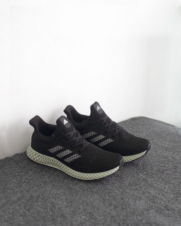 Adidas Futurecraft 4D - Black White - 13377
