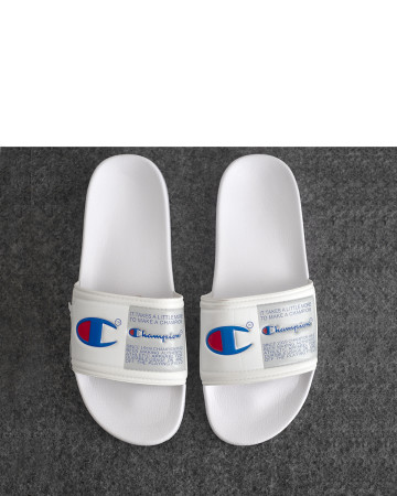 Champion Ipo Jock Slide Sandals - White - 13414