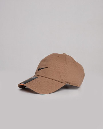 Nike Cotton Caps - Brown Black - 61722