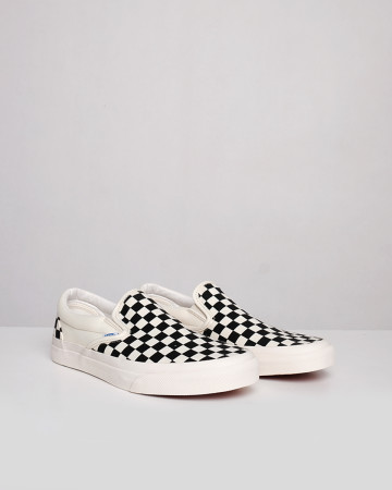 Vans Vault Og Classic Slip-On Lx Checkerboard - Black White - 13404