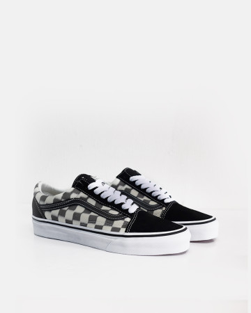 Vans Blur Checker Old Skool - Black - 13473
