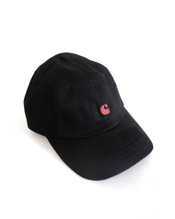 Carhartt WIP MADISON Logo Cap - Black - 61744