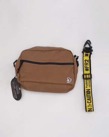 FR2 Middle Shoulder Bag - Brown - 61982