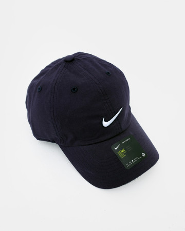 NIKE Authentic Dri-FIT Low Profile Swoosh Front Adjustable Cap - Blue - 62088