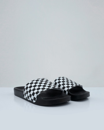 Vans Slide On Checker - Black White - 13583
