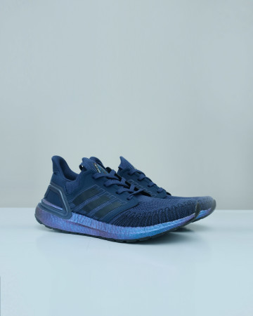 Adidas Ultra boost 2020 Iss US National Lab -Legend Ink / Violet Metalli 13666 -