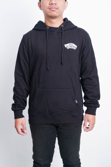 VANS OF THE WALL SKATE HOODIE - BLACK - 62014