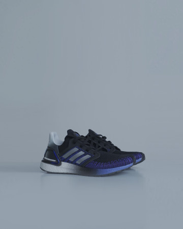 adidas Ultra Boost 20 5th Anniversary Pack - Core Black Silver Metallic Cloud White - 13703