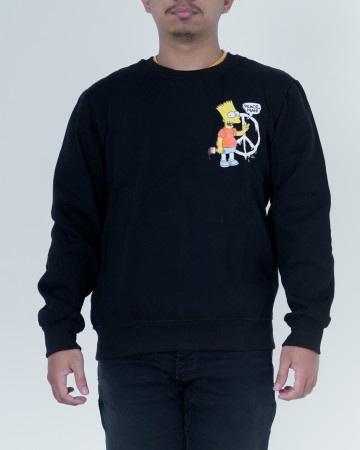 Off White Simpson Hoodie - Black - 62187
