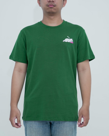 Rnd Ladies Man Tee -Hunter Green 62221