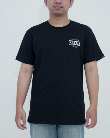 Deus Pioneer Tee-Black (90 unit ) 62208