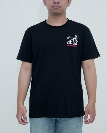 Deus Thirst Tee-Black  62209