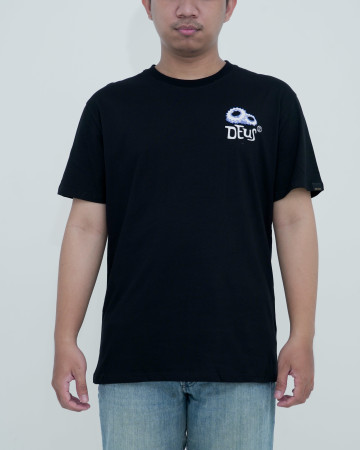 Deus Wiggy Tee-Black  62210