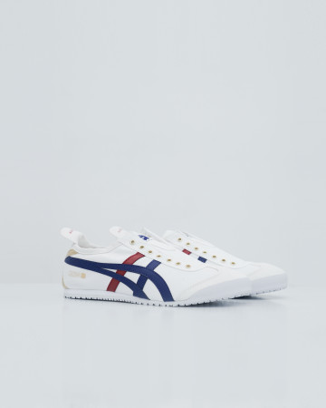 Onitsuka Tiger Mexico Slip On - White Blue Gold - 13714