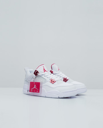 Jordan 4 Retro Metallic Purle - White Red - 13713