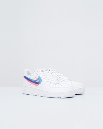Nike Air Force 1 '07 White 3D Glasses Double Swoosh - 751004