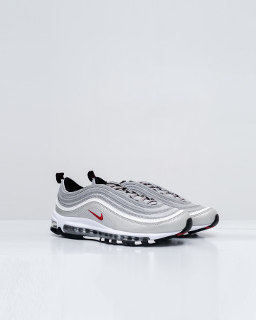 Nike Air Max 97 Silver Bullet (2016/2017) - Metallic Silver/Varsity Red-Black-White 751002