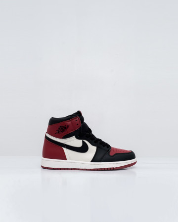 Jordan 1 Retro High Bred Toe - Gym Red/Black-Summit White - 761026