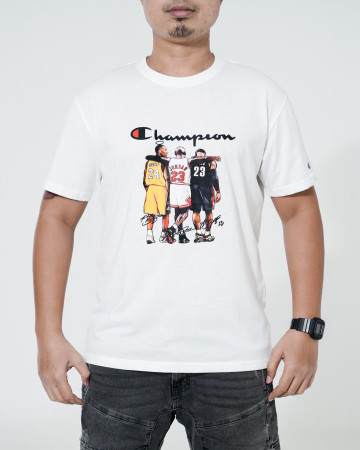 Basketball Champion T Shirt - White - 766018