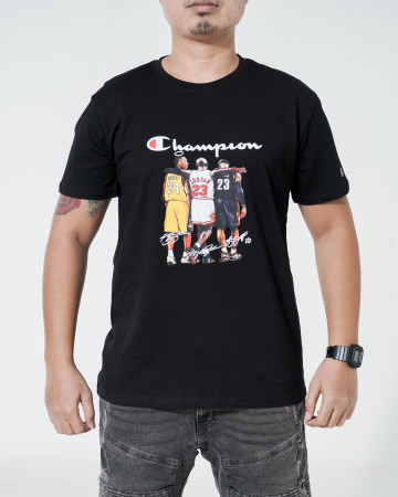 Basketball Champion T Shirt - Black - 766019