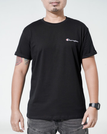 Champion T Shape T-Shirt - Black - 766000