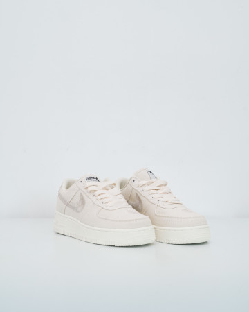 Nike Air Force 1 Low Stussy Fossil-Fossil Stone/Fossil Stone - 13748