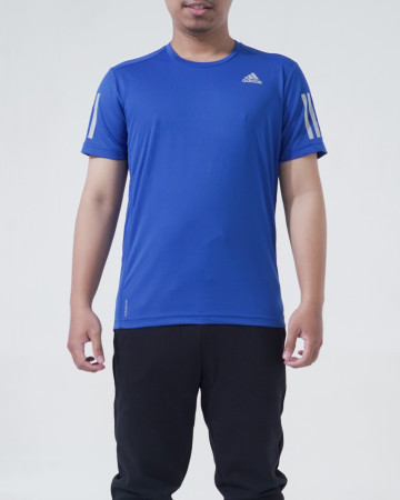 Adidas Own The Run Tshirt - Blue / Silver [FQ7252] - 62279
