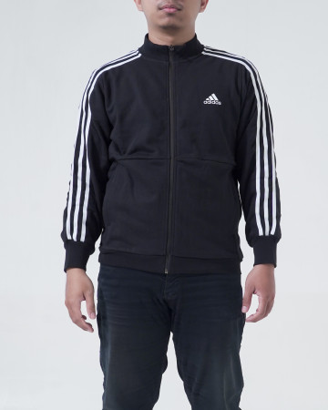 Adidas Jacket CM TT FT 3S - Black / White [DU6783] - 62283