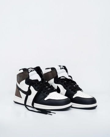Jordan 1 Retro High Dark Mocha-Sail/Dark Mocha-Black-Black - 13701