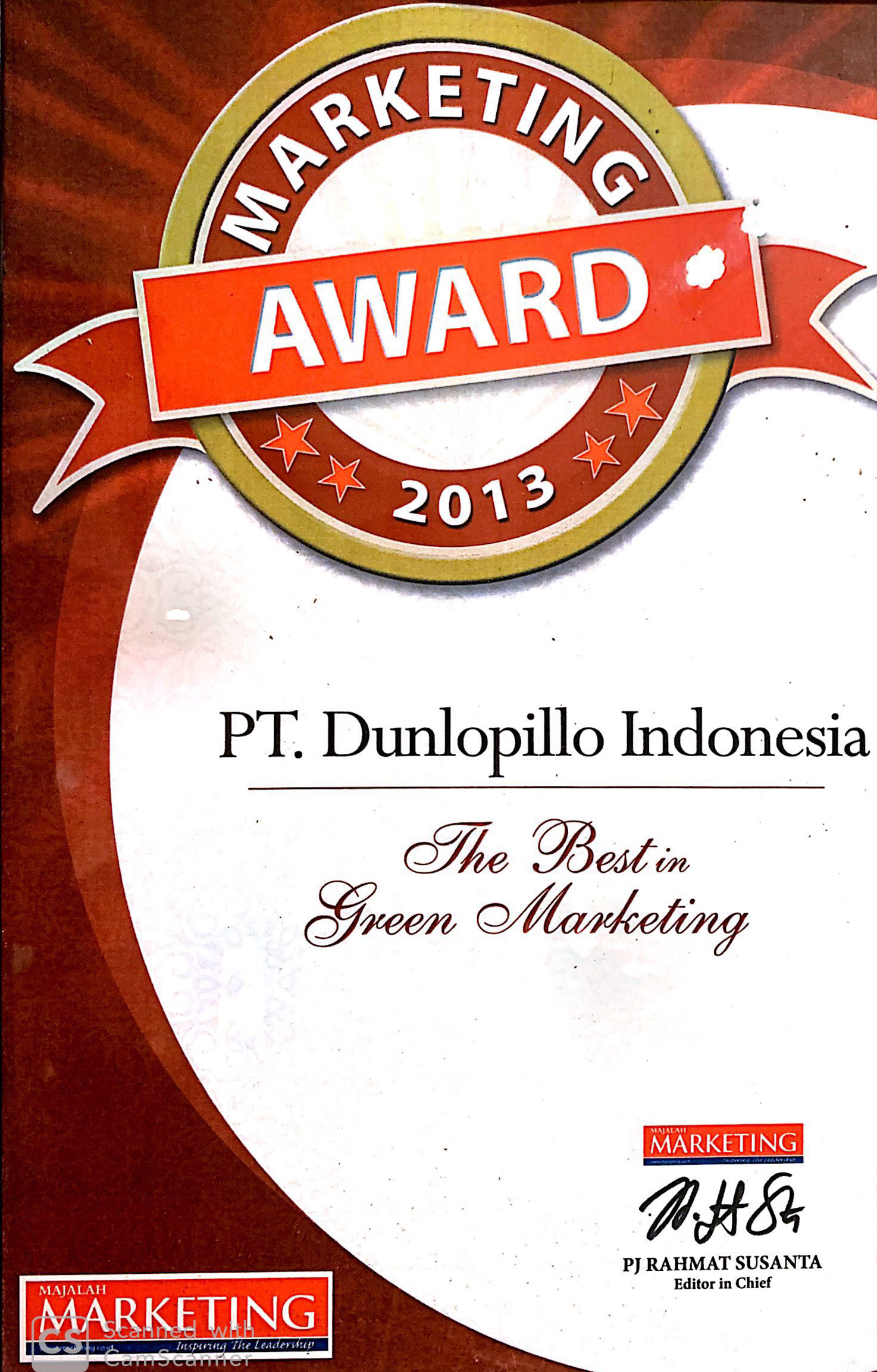 Marketing Award (The best in Green Marketing)