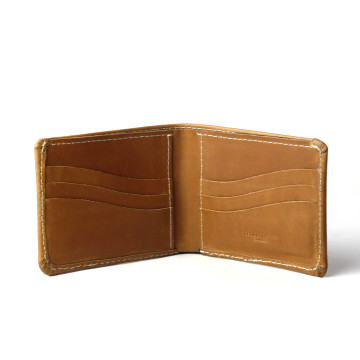 Singga Pull Up Brown Wallet