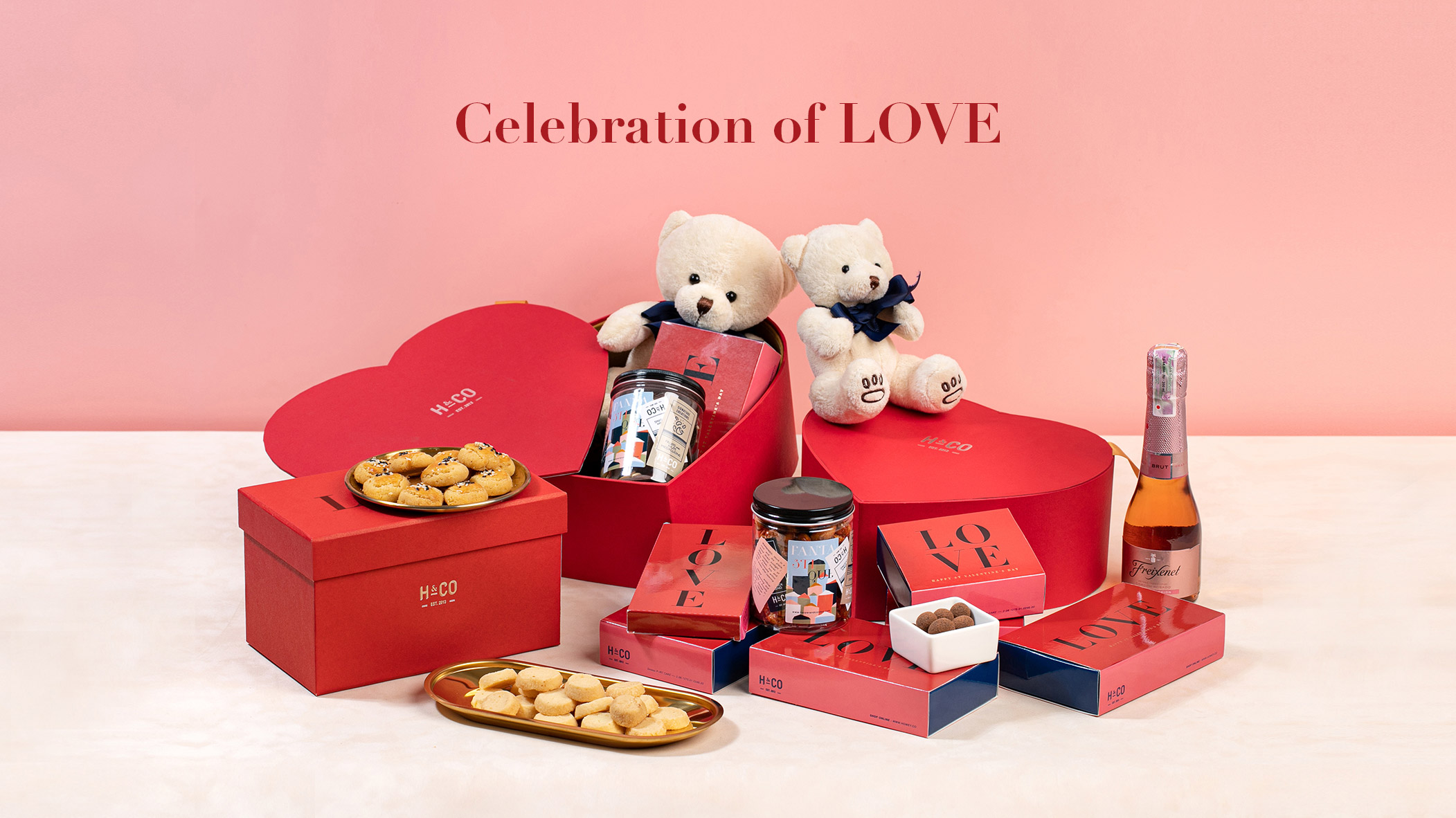 Celebration of LOVE with Harper & Cordon (2020 Valentine Collection) image