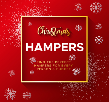 Find the perfect hampers for every person & budget