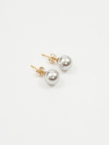 STUDS EARRINGS 8mm