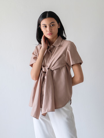 AROUND SHIRT TAUPE